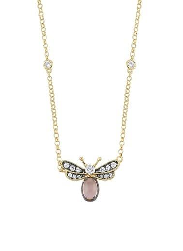 Piano Jewellery Maman Ince Yusufçuk Altın Kolye 14 Ayar Altın